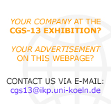 Advertise on cgs13-Webpage!