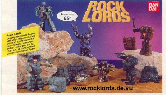 Rock Lords Rocklords Tonka Bandai Commercial